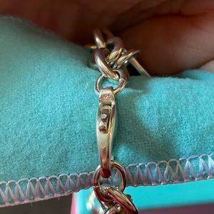 Tiffany & Co. Jewelry - Authentic Return to Tiffany Round Tag Bracelet.